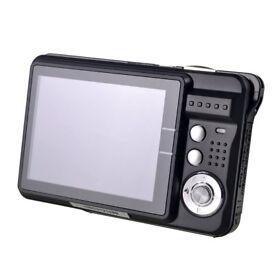 HD Mini Digital Camera with 2.7 inch TFT LCD Display (Black)
