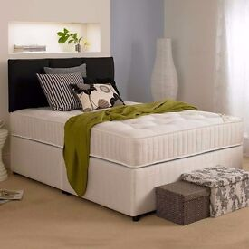One of the Best Mattress Sale!!-- Brand New Double Divan Base With 2000 pocket sprung Mattress