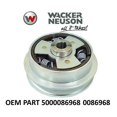 Wacker Oem Clutch Assy Fits Wp1550a Wp1550aw Plate Compactors 5000086968 0086968
