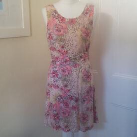 Cute little summer dress in multicolour UK size 10