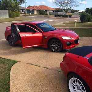 2008 RX8 GT Red 6sp Manual Townsville Townsville City Preview