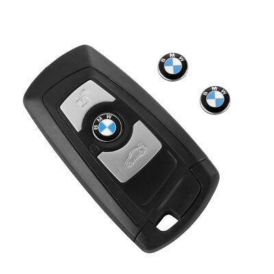 1PCS BMW logo 11mm Remote Key Emblem Sticker Replacement BMW E46 E39 E38 E90 E60
