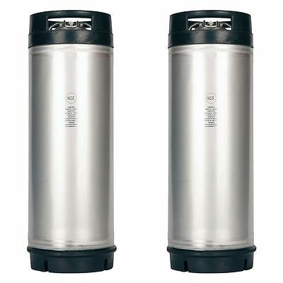 2 Pack - New 5 Gallon Ball Lock Kegs - Homebrew Beer Soda Coffee - Ships Free