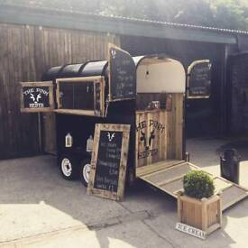 Horsebox catering trailer horse box