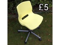 Ikea Snille Swivel Chair with adjustable height