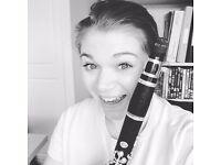 Clarinet teacher based in Oakham