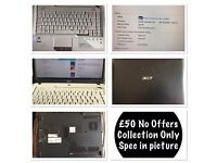 Acer Laptop Excellent Condition With Disc Drive