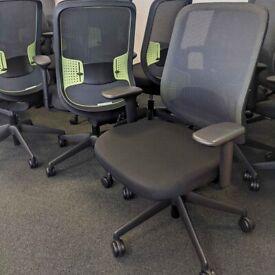 FREE SAME-DAY DELIVERY - Orangebox Do Task Ergonomic Office Chair, Mesh