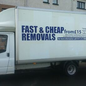 TWO MAN WITH LUTON VAN PRICE FROM £15 ( VERY CHEAP QUOTES FOR HOUSE MOVE)