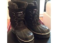 **BRAND NEW/ NEVER WORN** Unisex Groundforce Max Black Winter Boots, Size 5 [£20 ono][RRP £200]
