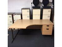 18 x used office desks