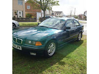 BMW E36 323 Coupe, Manual. MOT'd. Unmolested, clean for age