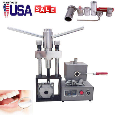 Dentist Dental Laboratory Equipment Denture Injection System Heater Machine Usa