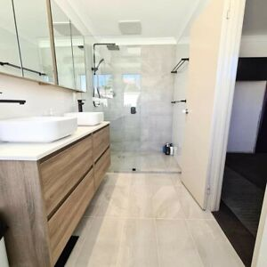 Professional tiling and bathroom renovation services