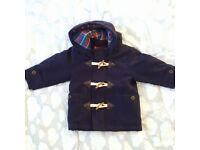 Baby boy Duffle Coat 9-12mths