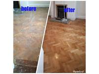Wood floor sanding & polishing