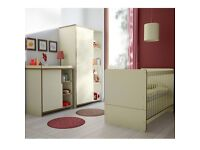 Nursery Furniture Set in good condition FREE MATTRESS clean like a new( smoke and pet free home)
