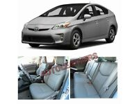 PRIVATE HIRE CAR LEATHER SEAT COVERS FOR TOYOTA PRIUS FORD GALAXY VOLKSWAGEN SHARAN SHARON VW TOURAN