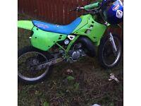 Kawasaki kdx 125 1991 £1000 ono