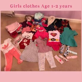 Girls 1 to 2 clothes