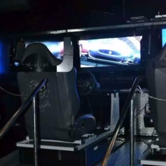 Race Simulator Hire, Party's, Events, Fetes, Entertainment