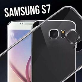 SAMSUNG S7 SILICONE CASE COVER