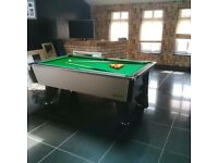 Pool table, one year old in excellent condition. Comes with extras
