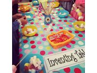 Easter Chocolate Nests & Sweet Kebabs