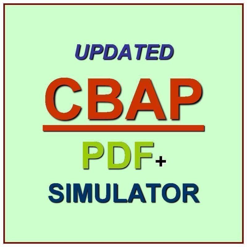 IIBA CBAP Certified Business Analysis Professional Exam Test QA PDF+Simulator