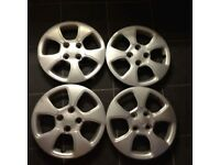 "Kia 14"" whell trims"