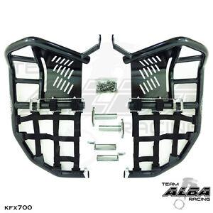 Kawasaki KFX 700 KFX700  Nerf Bars  Pro Peg  Alba Racing  Blk Blk  200 T7 BB