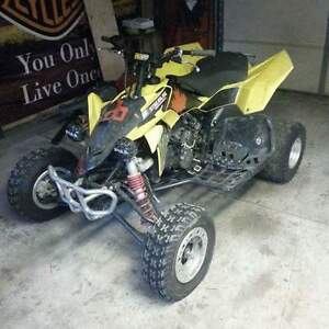 looking to trade for 4x4 600cc quad close to equal value