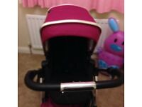 Silver cross pram from birth - toddler