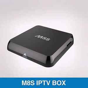 M8S Android TV Box 2G/8G Dual band 2.4G/5G wifi Cranbourne Casey Area Preview