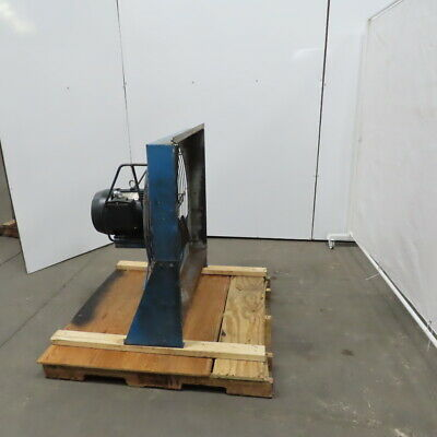Quincy 60hp Rotary Screw Air Compressor 32 Dia Radiator After Cooler Fan 460v