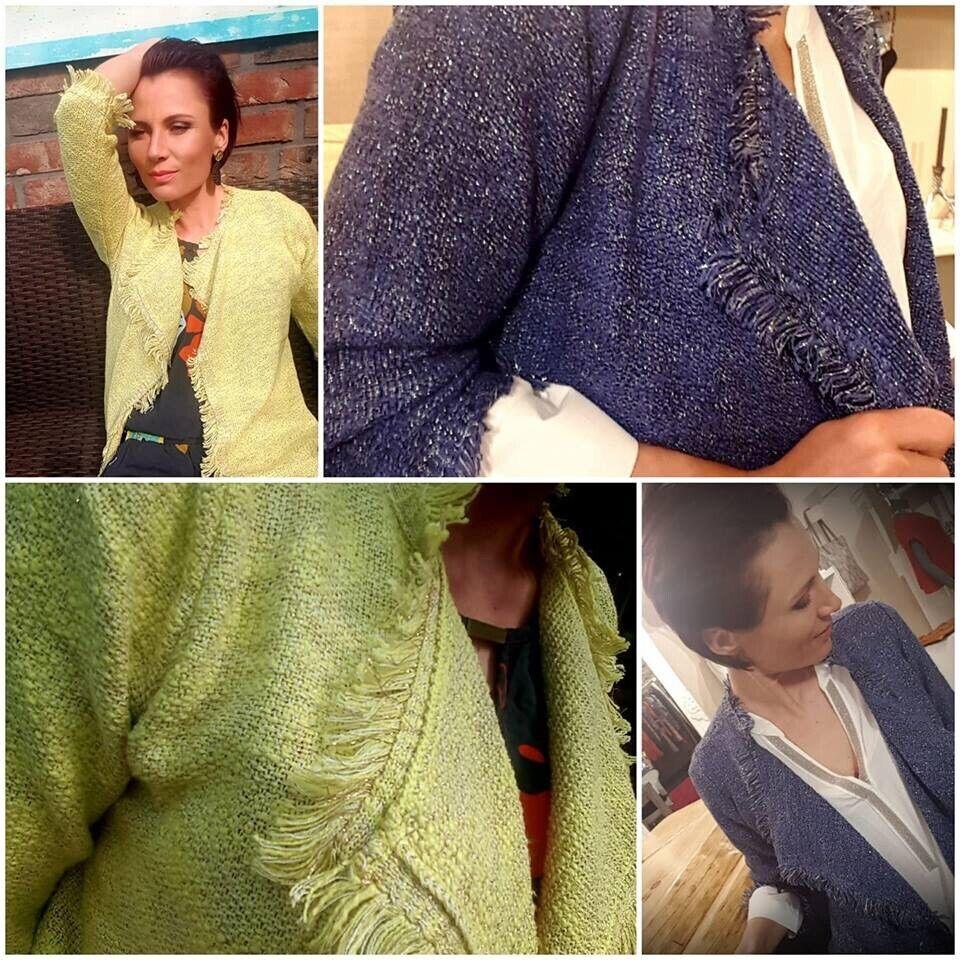 071ce743c Fringed knit jacket indigo | in Sheffield, South Yorkshire | Gumtree