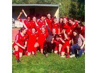 CLAPHAM LADIES FOOTBALL CLUB - JOIN US!!!! (WOMENS/LADIES FOOTBALL)