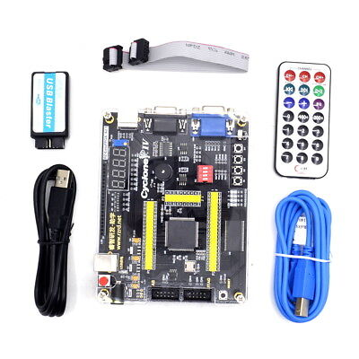 Ep4ce6e22c8n Altera Cyclone Fpga Development Board Usb Blaster Sdram 64mbit New