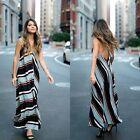 Zara Striped Maxi Dresses for Women