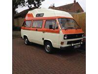 VW campervan Classic retro hi top
