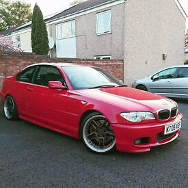 330cd sport imola red only one for keeper fsh great spec sat nav TV ect