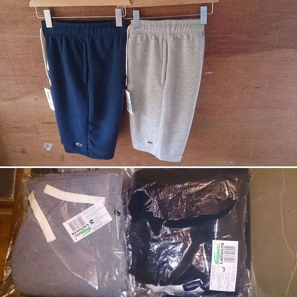 men lacoste shortin Hersham, SurreyGumtree - mens lacoste shorts 07724853796 07724853796 07724853796 07724853796 text to place order top quality zip pockets sizes S to XXL colours black, navy, dark grey, light grey £20 free P&P or collection in person only if want to buy