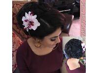 Birmingham Hair Stylist - Bridal Hair Styling |Party Hair Styling| Asian Bridal Hair