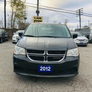 2012 Dodge Grand Caravan WINTER TIRE PACKAGE - 3.6L LOADED NAVI-