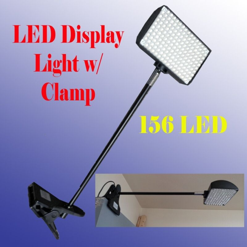 LED Display Light with Clamp Las Vegas Approved 156 LED Trade Show Booth Panel
