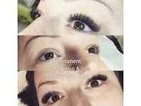 Eyelash extensions, Russian volume lashesv