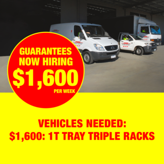 $1600 PER WEEK - ONE TONNE TRAY WITH TRIPLE RACKS Perth Perth City Area Preview