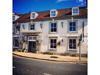 STAFF WANTED FOR SMALL HOTEL IN HAMPSHIRE