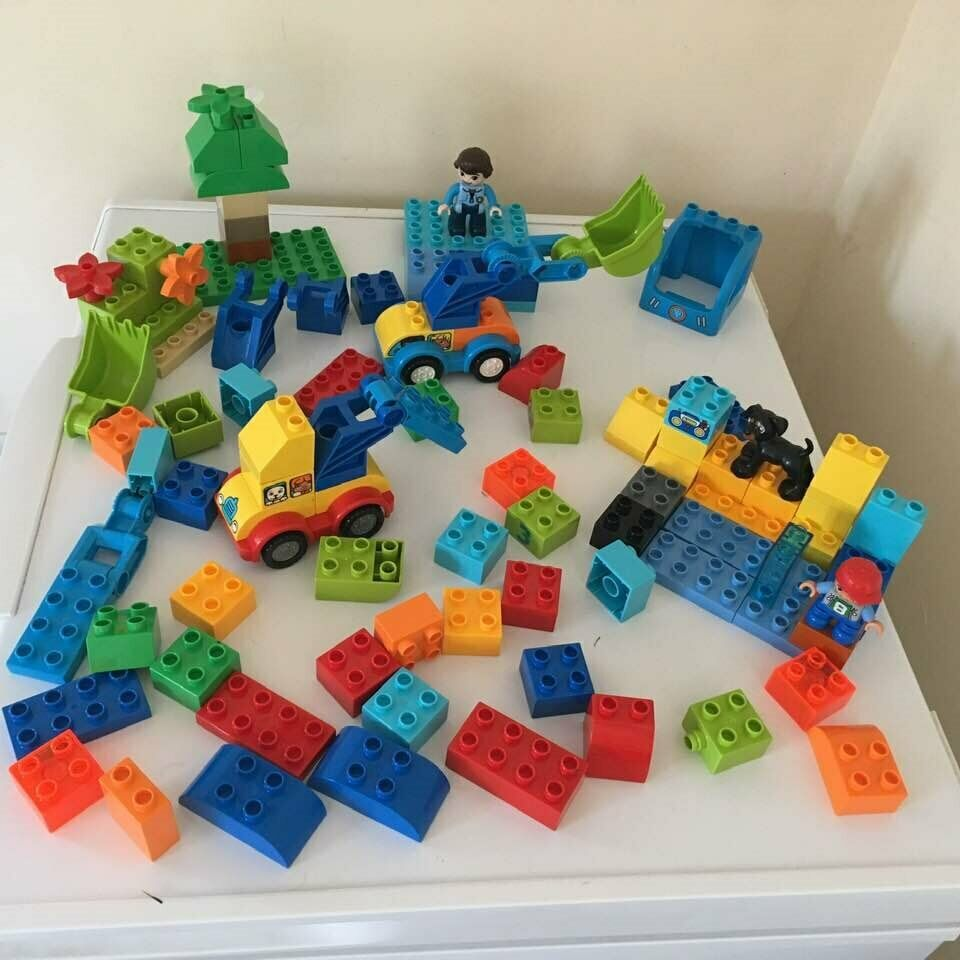 Big Bundle Of Genuine Lego Duplo 12 For All Collection From