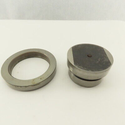 3.500 .010 Round Hole Die Cnc Turret Punch Shank 3.125 Lot Of 2